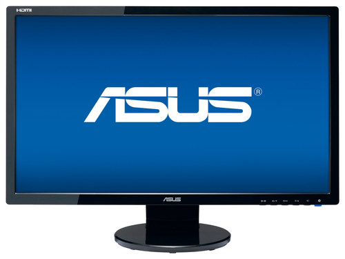 Asus - 24 LED HD Monitor - Black