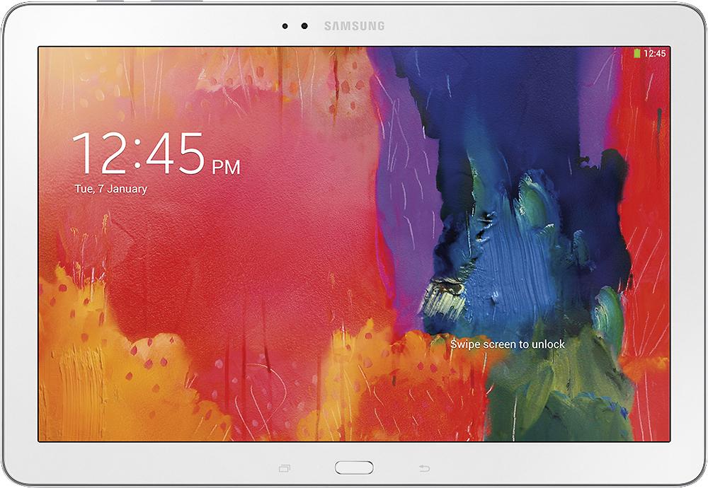 Samsung - Galaxy Tab Pro 12.2 - 32GB - White