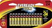 Eveready - A92BP24HT Alkaline AAA Size General Purpose Battery