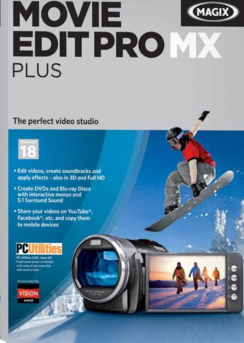 Movie Edit Pro MX Plus: Version 18 - Windows