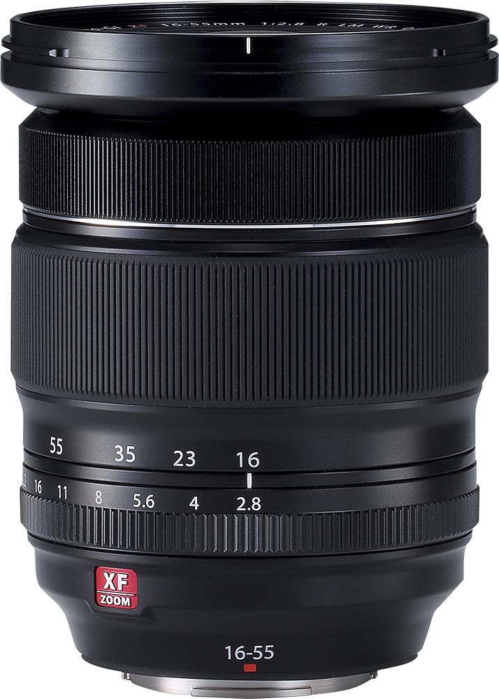 Fujifilm - XF 16-55mm R LM WR Standard Zoom Lens for Fujifilm X-Mount Cameras - Black