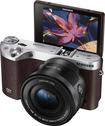 Samsung - NX500 Mirrorless Camera with 16-50mm Lens - Brown