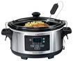 Hamilton Beach - Set & Forget 6-Quart Slow Cooker - Silver