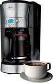 Melitta - 12-Cup Programmable Coffeemaker - Black