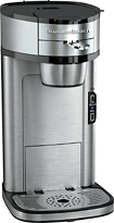 Hamilton Beach - The Scoop Single-Serve Coffeemaker - Stainless-Steel