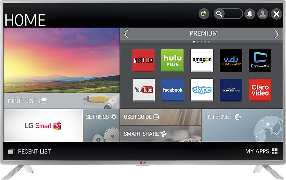 """LG - 47"""" Class (46-9/10"""" Diag.) - LED - 1080p - Smart - HDTV - Black"""