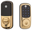 Yale - Touch-Screen Deadbolt Lock - Polished Brass