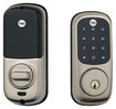 Yale - Touch-Screen Deadbolt Lock - Satin Nickel