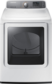 Samsung - 7.4 Cu. Ft. 11-Cycle Electric Dryer - White