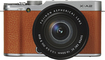 Fujifilm - X-A2 Mirrorless Camera with XC 16-50mm Lens - Brown