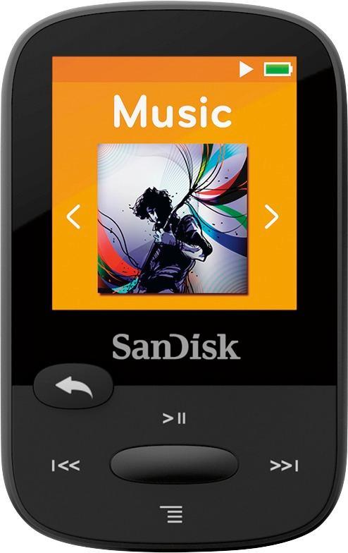SanDisk - Clip Sport 4GB* MP3 Player - Black