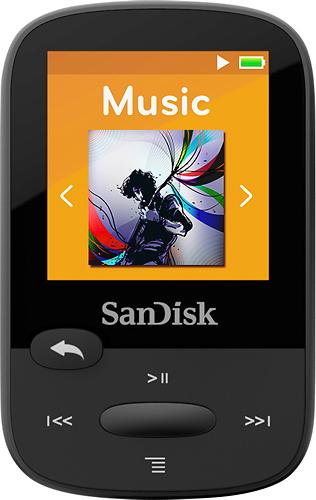 SanDisk - Clip Sport 8GB* MP3 Player - Black