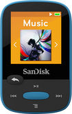 SanDisk - Clip Sport 8GB* MP3 Player - Blue