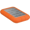 LaCie - Rugged Triple 301984 1 TB External Hard Drive - Orange