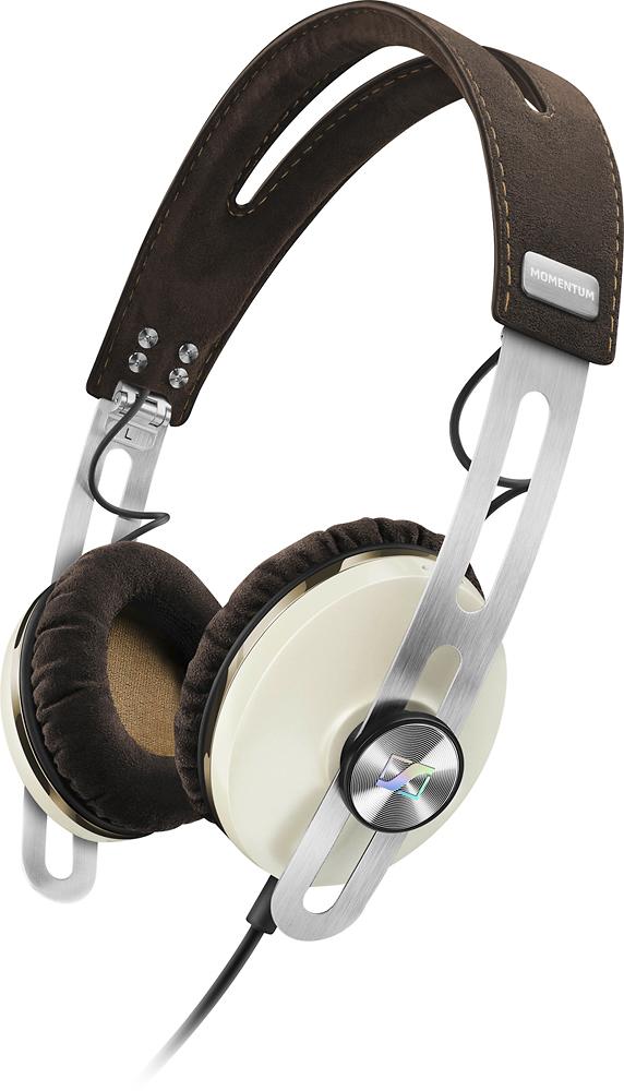 Sennheiser - Momentum (M2) On-Ear Headphones - Ivory