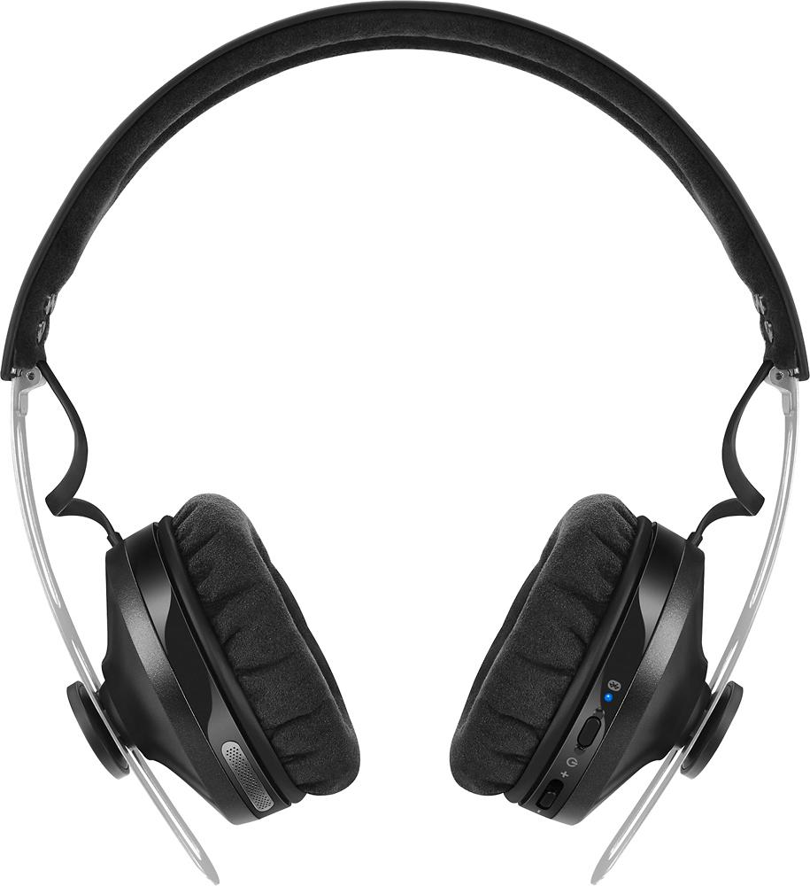 Sennheiser - Momentum (M2) Wireless On-Ear Headphones - Black