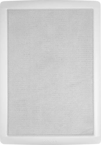 "Polk Audio - MC Series 8"" 2-Way Square In-Wall Speaker (Each) - White"