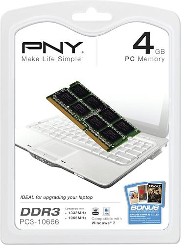 PNY - 4GB DDR3 Sdram Memory Module