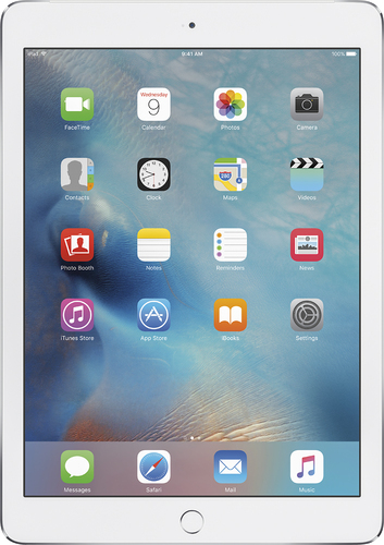 Apple - iPad Air 2 Wi-Fi + Cellular 64GB - Silver