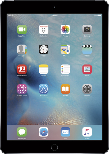 Apple - iPad Air 2 Wi-Fi + Cellular 64GB - Space Gray
