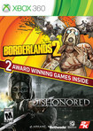 Borderlands 2 and Dishonored Bundle - Xbox 360