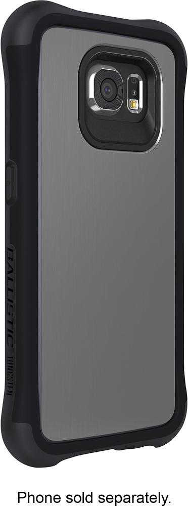 Ballistic - Tungsten Slim Case for Samsung Galaxy S6 Cell Phones - Metal Gray/Onyx