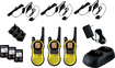 Motorola - Talkabout MH230 Series 23-Mile, 22-Channel FRS/GMRS 2-Way Radios (3-Pack) - Yellow