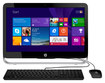 "HP - Pavilion 23"" All-In-One - AMD A6-Series - 4GB Memory - 500GB Hard Drive - Black/Silver"
