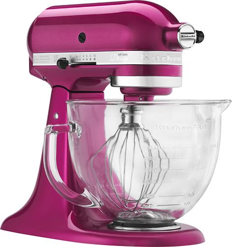 KitchenAid - Tilt-Head Stand Mixer - Raspberry Ice