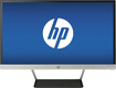 "HP - Pavilion 23"" IPS LED HD Monitor - Jet Black/Natural Silver"