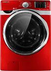 Samsung - Vrt Plus Steam & Powerfoam 4.3 Cu. Ft. 13-cycle High-efficiency Steam Washer - Tango Red 3795295