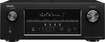 Denon - 1295W 7.2-Ch. Network-Ready 4K Ultra HD and 3D Pass-Through A/V Home Theater Receiver - Black