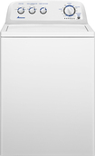 Amana - 3.6 Cu. Ft. 11-Cycle Top-Loading Washer - White