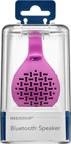 Insignia - Portable Bluetooth Speaker - Hot Pink