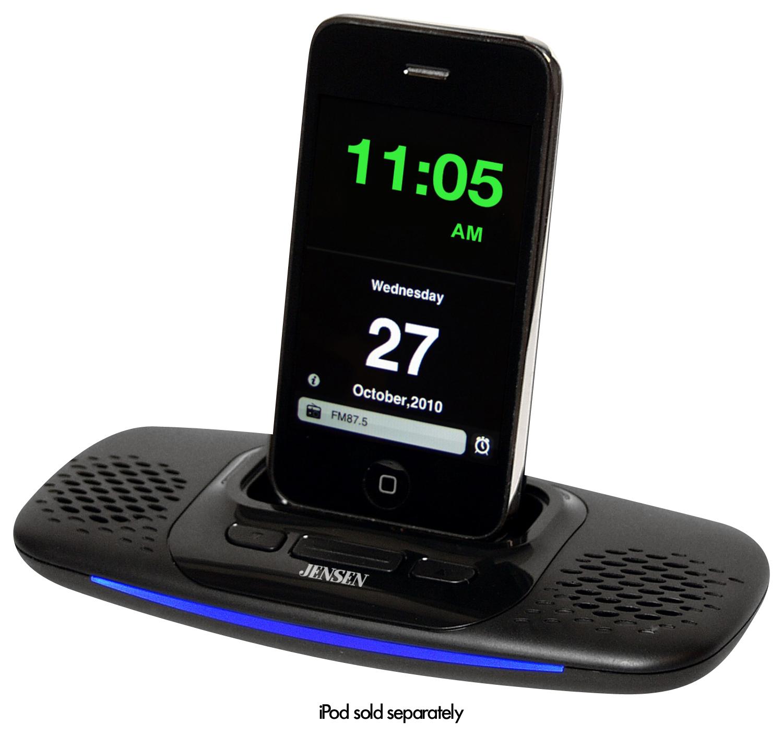 Jensen - Docking Speaker System for Apple® iPod® and iPhone® - Black