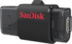 SanDisk - Ultra Dual 16GB USB 2.0/Micro USB Flash Drive - Black
