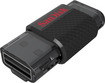 SanDisk - Ultra Dual 32GB USB 2.0/Micro USB Flash Drive - Black