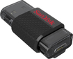 SanDisk - Ultra Dual 64GB USB 2.0/Micro USB Flash Drive - Black