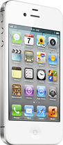 Apple® - iPhone® 4 with 8GB Memory - White (AT&T)