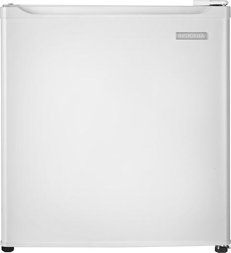 Insignia™ - 1.7 Cu. Ft. Compact Refrigerator - White