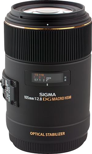 Sigma - 105mm f/2.8 EX DG OS Macro Lens for Select Sony Full-Frame DSLR Cameras