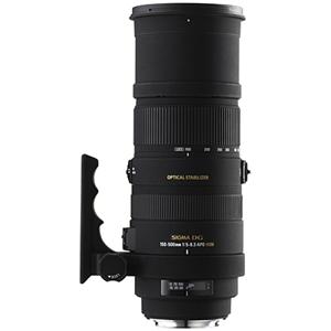 Sigma - 150-500mm f/5-6.3 Telephoto Zoom Lens for Select Sigma Full-Frame DSLR Cameras - Black