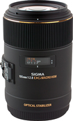 Sigma - 105mm f/2.8 EX DG OS Macro Lens for Select Canon Full-Frame DSLR Cameras - Black