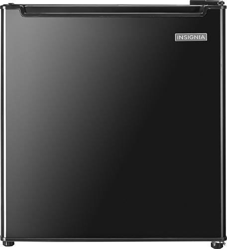 Insignia™ - 1.7 Cu. Ft. Compact Refrigerator - Black