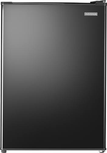 Insignia™ - 2.6 Cu. Ft. Compact Refrigerator - Black