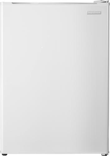 Insignia™ - 2.6 Cu. Ft. Compact Refrigerator - White