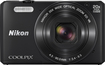 Nikon - Coolpix S7000 16.0-Megapixel Digital Camera - Black