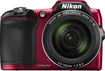 Nikon - Coolpix L840 16.0-Megapixel Digital Camera - Red