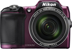 Nikon - Coolpix L840 16.0-Megapixel Digital Camera - Plum
