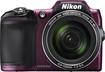 Nikon - Coolpix L840 16.0-Megapixel Digital Camera - Plum